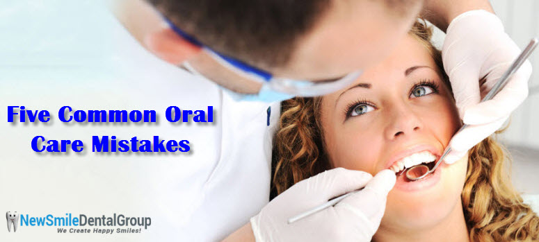 Oral Care Mistakes